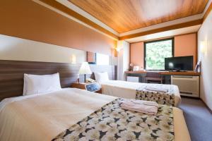 The Hedistar Hotel Narita, Отели эконом-класса  Нарита - big - 48