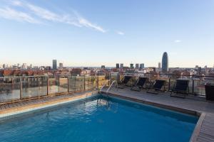 Catalonia Atenas, Отели  Барселона - big - 64