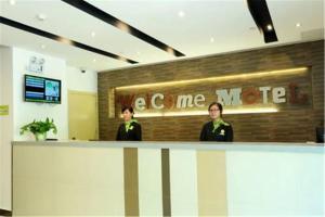 Motel Shanghai Quyang Business Centre Dabaishu Metro Station, Szállodák  Sanghaj - big - 10