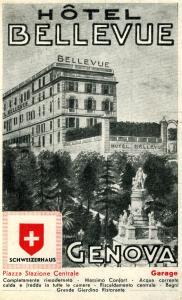 Hotel Bellevue, Hotel  Genova - big - 23