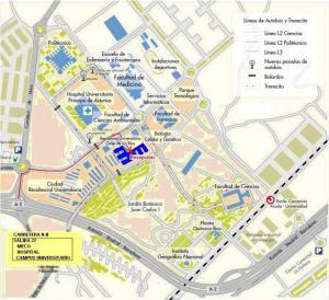 Residencia Universitaria Giner de Los Ríos, Residenza studentesca  Alcalá de Henares - big - 40