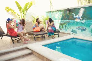 Hostelito Chetumal Hotel + Hostal, Хостелы  Четумаль - big - 35