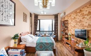 Chengdu Bojin Boutique Apartment, Apartmanok  Csengtu - big - 2