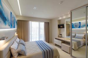 Marinos Beach Hotel-Apartments, Residence  Platanias - big - 11