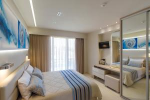 Marinos Beach Hotel-Apartments, Apartmanhotelek  Platanész - big - 11