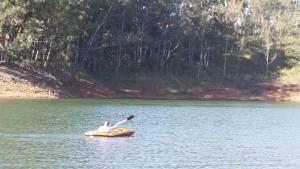 Pousada Canto do Lago, Гостевые дома  Пиракая - big - 60