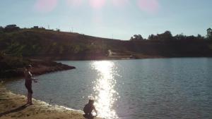 Pousada Canto do Lago, Гостевые дома  Пиракая - big - 28