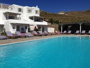 Yakinthos Residence, Apartmánové hotely  Panormos Mykonos - big - 50
