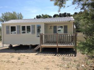 Mobil Home de Patricia et Franck, Prázdninové domy  Narbonne-Plage - big - 1