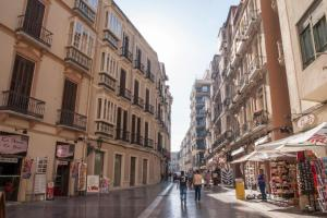 Malaga Center Holidays Cister, Apartmanok  Málaga - big - 5