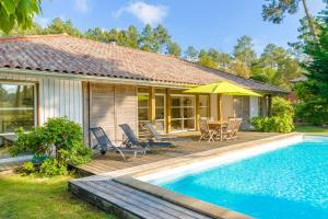 Location gîte, chambres d'hotes Lagrange Vacances La Clairière aux Chevreuils dans le département Landes 40
