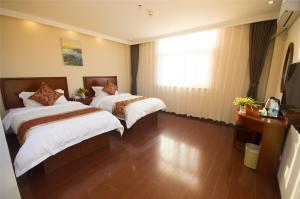 Auberges de jeunesse - GreenTree Inn Anhui Luan Shouxian Dinghu Avenue Express Hotel