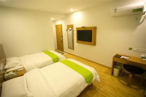 Vatica Hebei Langfang Pipeline Bureau General Hospital Hotel, Отели  Langfang - big - 15