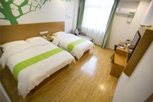 Vatica Hebei Langfang Pipeline Bureau General Hospital Hotel, Отели  Langfang - big - 18
