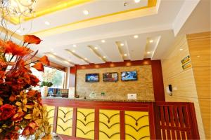Hostels und Jugendherbergen - GreenTree Inn Ningxia Hui Autonomous Region Qingtongxia East Limin Street Qinmin Road Express Hotel