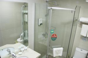 GreenTree Inn Jiangsu Zhenjiang Yangzhong North Gangdong Road Food Street Express Hotel, Hotels  Yangzhong - big - 19