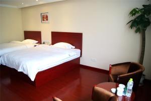 GreenTree Inn Jiangsu Nantong Development District Middle Road Business Hotel, Отели  Наньтун - big - 9
