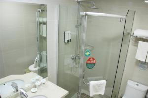 GreenTree Inn Jiangsu Nantong Development District Middle Road Business Hotel, Отели  Наньтун - big - 4