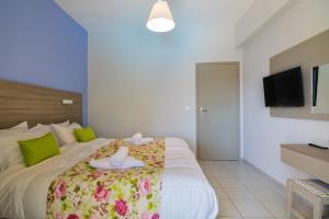 Evelin Hotel, Residence  Platanias - big - 9