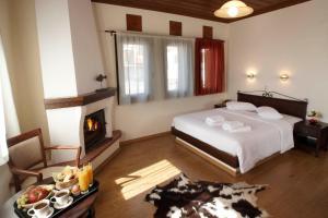 Hotel Mirovoli, Отели  Милиес - big - 5