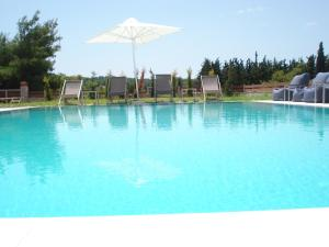 Villa Madeleine, Apartments  Nea Fokea - big - 41