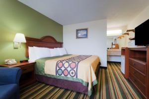 Super 8 by Wyndham Troy, Hotels  Troy - big - 2