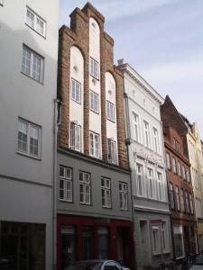 Altstadthaus - Wohnung Guilde, Apartmány  Lübeck - big - 36