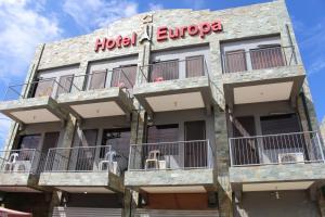 Hotel Europa, Мактан
