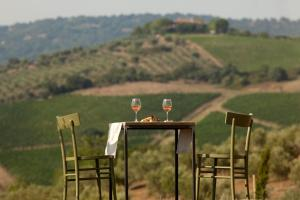 Casale Sterpeti, Panziók  Magliano in Toscana - big - 41