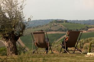 Casale Sterpeti, Panziók  Magliano in Toscana - big - 38