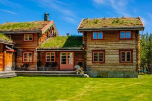 Øvre Nordli, Dovolenkové domy  Atnfoss - big - 9