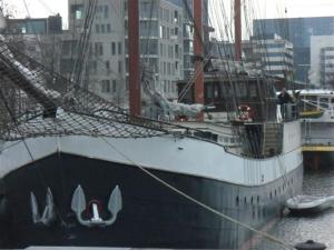 Boat Barkentijn Marjorie