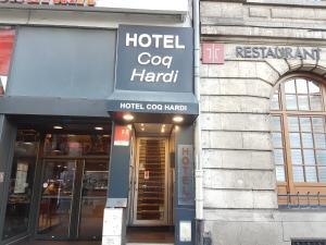 emblème de l'établissement Hôtel Coq Hardi