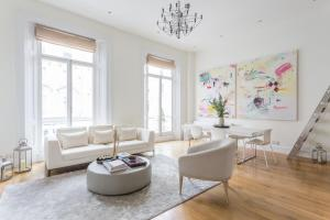 onefinestay - South Kensington private homes III, Апартаменты  Лондон - big - 126