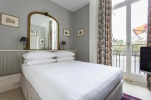 onefinestay - South Kensington private homes III, Апартаменты  Лондон - big - 112