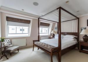 onefinestay - South Kensington private homes III, Апартаменты  Лондон - big - 101