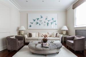 onefinestay - South Kensington private homes III, Апартаменты  Лондон - big - 1