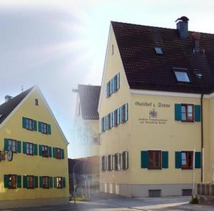 Gasthof zur Sonne - Jettingen-Scheppach