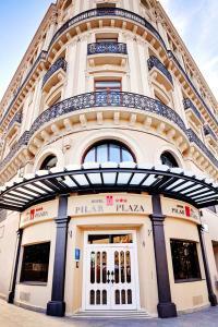 Hotel Pilar Plaza, Szállodák  Zaragoza - big - 27