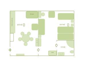 Poduszka Apartamenty Zielony Dom