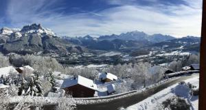 La Joubarbe au Balcon du Mont-Blanc - Hotel - Cordon