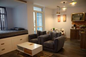 European style VIP flat, Apartmány  Kyjev - big - 16