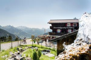 3 hvězdičkový penzion Panoramagasthof Kristberg Silbertal Rakousko