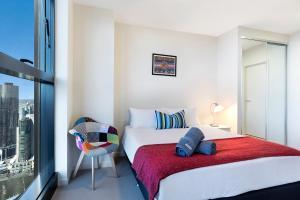Studio# on Collins, Апартаменты  Мельбурн - big - 8