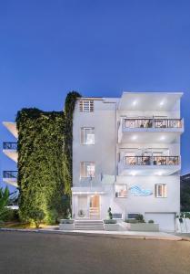 Sea View Aparthotel, Apartmanhotelek  Káto Daráco - big - 74