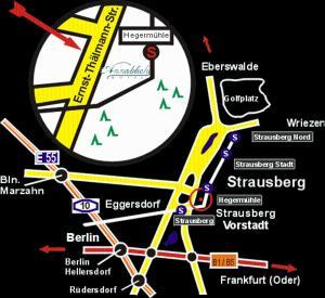 Hotel Annablick, Penzióny  Strausberg - big - 20