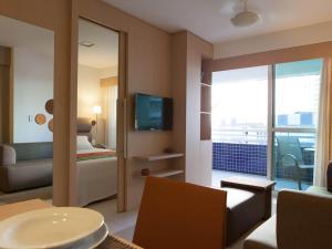 Beach Class Residence Service, Apartmány  Fortaleza - big - 20