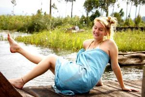 Lake Chahafi Resort, Luxury tents  Kisoro - big - 49