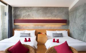 The Now Hotel, Hotely  Jomtien pláž - big - 34