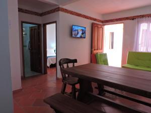 Apartahotel La Gran Familia, Residence  Villa de Leyva - big - 11
